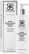 Parfumuri și produse cosmetice Cremă pentru corp - Patchness Skin Essentials Hydra Intense Essential Body Cream