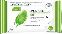 Parfumuri și produse cosmetice Şerveţele pentru igiena intimă - Lactacyd Fresh Intimate Wipes