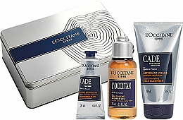 Parfumuri și produse cosmetice Set - L'Occitane Cade Men Set (fluid/20ml + sh/ge/75g + f/cleanser/150ml)