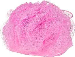 Parfumuri și produse cosmetice Burete de baie, roz - IDC Institute Design Mesh Pouf Bath Sponges