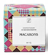 "Lumânare din soia ""Biscuiți cu migdale"" - Mys Macarons Candle — Imagine N2"
