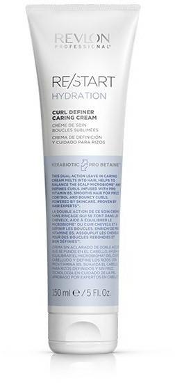 Cremă pentru păr creț - Revlon Professional Restart Hydration Curl Definer Caring Cream — Imagine N1