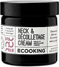 Parfumuri și produse cosmetice Cremă pentru gât și decolteu - Ecooking Neck & Decolletage Cream