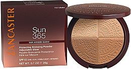 Parfumuri și produse cosmetice Bronzer - Lancaster 365 Sun Protecting Bronzing Face Powder SPF10 Adjustable Glow
