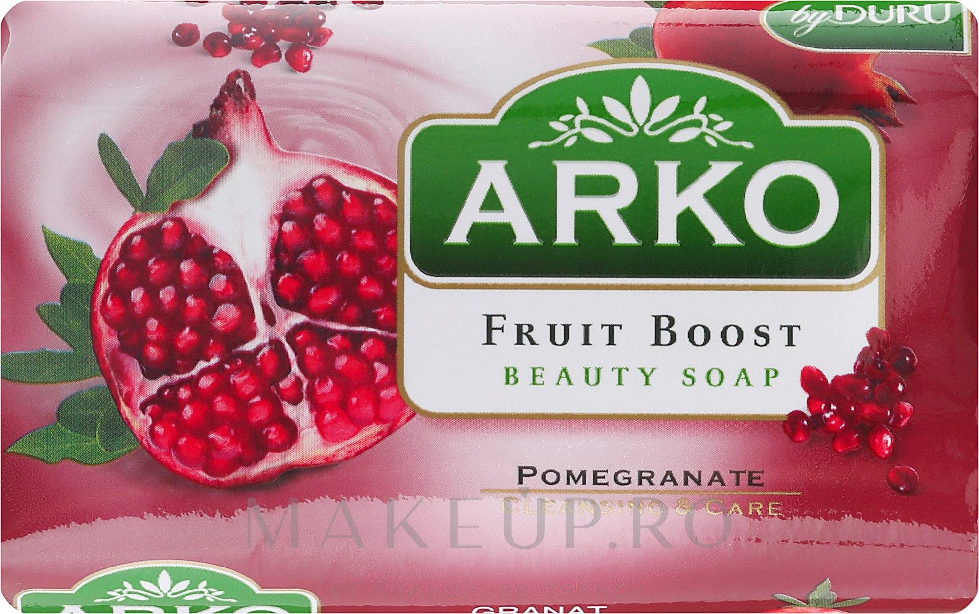 Săpun - Arko Fruit Boost Beaty Soap Pomegranate — Imagine 90 g