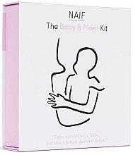 Parfumuri și produse cosmetice Set - Naif Baby & Mom Kit (b/oil/100ml + b/cr/75ml + h/cr/75ml)