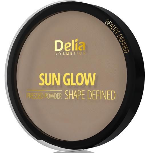 Pudră compactă de față - Delia Shape Defined Sun Glow — Imagine N1