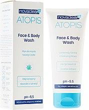 Parfumuri și produse cosmetice Soluție de curățare pentru față și corp - Novaclear Atopis Face&Body Wash