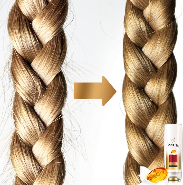 "Balsam de păr Condiționant ""Protecția culorii și strălucirii"" - Pantene Pro-V Lively Color Conditioner — Imagine N6"