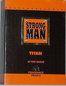 Loțiune după ras - Strong Men After Shave Titan
