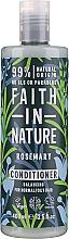 Parfumuri și produse cosmetice Balsam cu rozmarin pentru păr - Faith in Nature Rosemary Conditioner