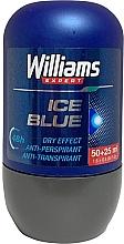Parfumuri și produse cosmetice Deodorant Roll-On - Williams Expert Ice Blue Roll-On Anti-Perspirant Dry Effect