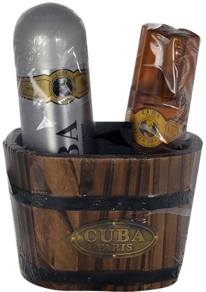 Cuba Gold - Set (ash/lot/100ml + deo/200ml) — Imagine N1