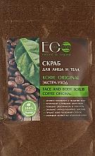 """Parfumuri și produse cosmetice Scrub pentru față și corp """"Coffe Original"""" - ECO Laboratorie Face and Body Scrub Coffee Original"""