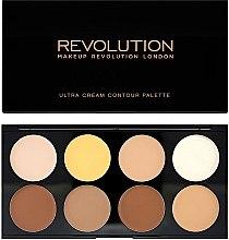 Parfumuri și produse cosmetice Corector pentru față - Makeup Revolution Ultra Cream Contour Palette