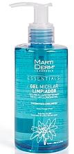 Parfumuri și produse cosmetice Gel micelar de curățare pentru față - MartiDerm Essentials Micellar Cleansing Gel