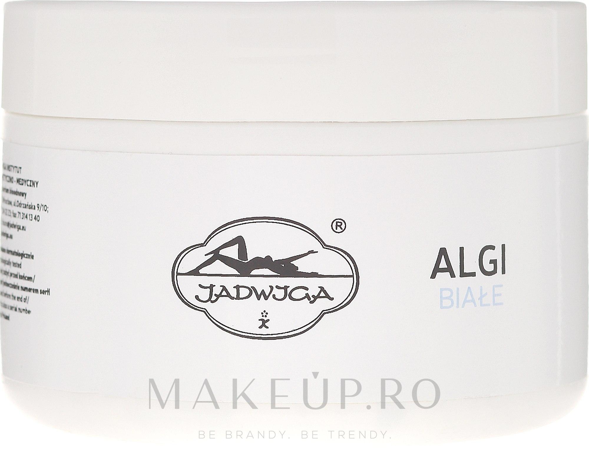 Mască alginată albă liniștitoare - Jadwiga Saipan Algi Biale — Imagine 250 ml