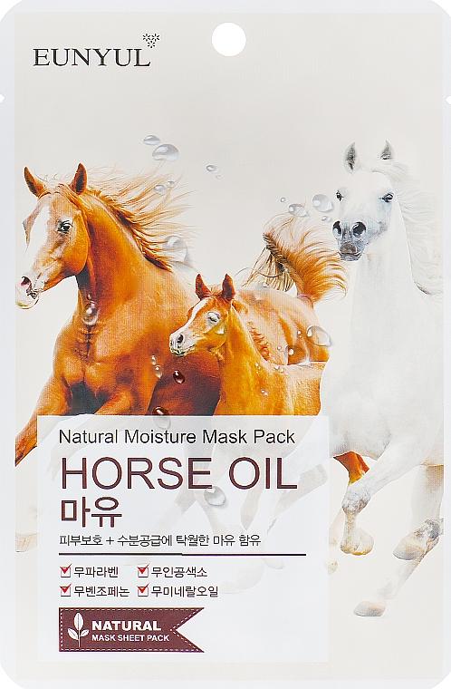 Mască pe bază de ulei de cal - Eunyul Horse Oil Mask Pack