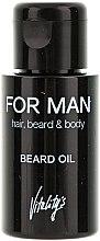 Parfumuri și produse cosmetice Ulei pentru barbă - Vitality's For Man Beard Oil