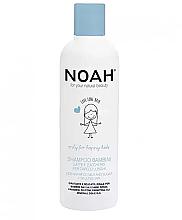 Parfumuri și produse cosmetice Șampon cu lapte și zahăr pentru părul lung, pentru copii - Noah Kids Shampoo milk & sugar for long hair