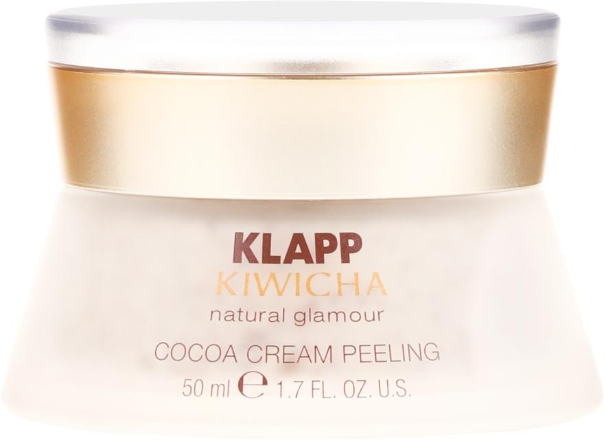 Peeling facial - Klapp Kiwicha Cocoa Cream Peeling — Imagine N2