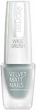Parfumuri și produse cosmetice Lac pentru unghii - Isadora Velvet Matt Nails