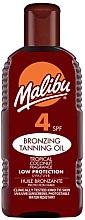 Parfumuri și produse cosmetice Cremă cu protecție solară pentru față - Malibu Bronzing Tanning Oil SPF4