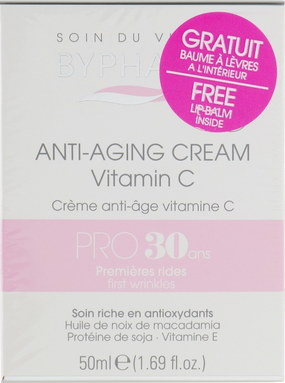 Set - Byphasse Anti-aging 30+ (cr/50ml+lip/balm/4.8g)