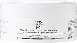 Parfumuri și produse cosmetice Unt de unt cu argan și baobab - APIS Professional Natural Shea Butter