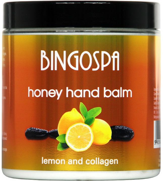 Balsam cu miere și lămâie pentru mâini - BingoSpa