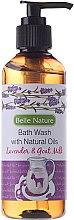 Parfumuri și produse cosmetice Gel de duș, cu aromă de lavandă - Belle Nature Bath Wash Lavender&Goat Milk