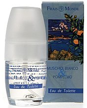 Parfumuri și produse cosmetice Frais Monde White Musk And Grapefruit - Apă de toaletă