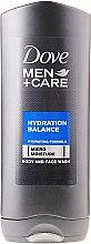 """Parfumuri și produse cosmetice Cremă gel """"Balanță de hidratare"""" - Dove Hydration Balance Shower Gel"""