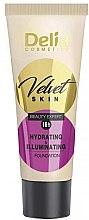 Parfumuri și produse cosmetice Fond de ten - Delia Mineral Velvet Skin