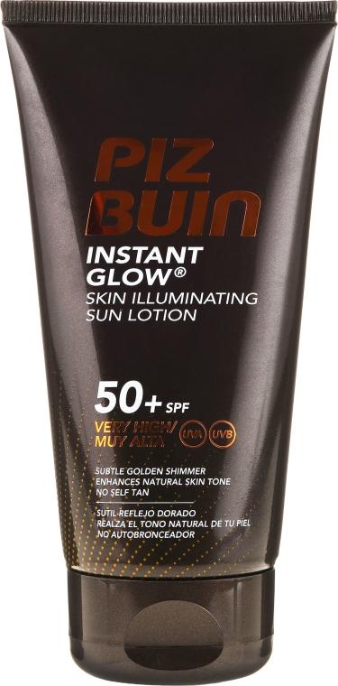 Loțiune de corp - Piz Buin Instant Glow Sun Lotion 50+ SPF
