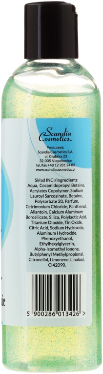 Gel de duș - Scandia Cosmetics Pure Water — Imagine N2