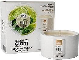 Parfumuri și produse cosmetice Lumânare aromată - House of Glam Calabrian Mojito Candle