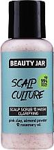 Parfumuri și produse cosmetice Mască de curățare a scalpului - Beauty Jar Scalp Culture Scrub & Mask