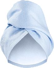 Parfumuri și produse cosmetice Prosop pentru păr, albastru - Glov Hair Wrap