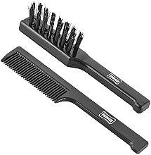 Parfumuri și produse cosmetice Set pentru barbă și mustăți - Proraso Moustache Comb and Beard Brush Set (brush/2pcs)