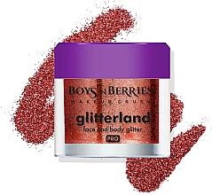Parfumuri și produse cosmetice Glitter pentru față și corp - Boys'n Berries Glitterland Face and Body Glitter