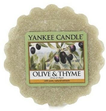 Ceară aromată - Yankee Candle Olive & Thyme Wax Melts — Imagine N1