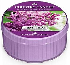 """Parfumuri și produse cosmetice Lumânare de ceai """"Liliac proaspăt"""" - Country Candle Fresh Lilac Daylight"""