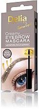 Parfumuri și produse cosmetice Rimel pentru sprâncene - Delia Creamy Eyebrow Mascara