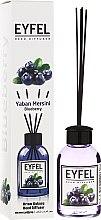 """Parfumuri și produse cosmetice Difuzor Aromatic """"Coacăză"""" - Eyfel Perfume Reed Diffuser Blueberry"""