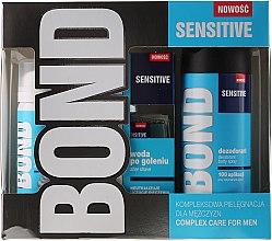 Parfumuri și produse cosmetice Set - Bond Expert Sensitve (deo/150ml + lotion/100ml + foam/50ml)