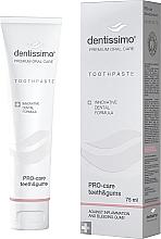"""Parfumuri și produse cosmetice Pastă de dinți """"Protecția dinților și a gingiilor"""" - Dentissimo Pro-Care Teeth&Gums"""