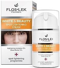 Parfumuri și produse cosmetice Cremă cu efect de albire pentru tratament local - Floslek White & Beauty Spot Lightening Cream