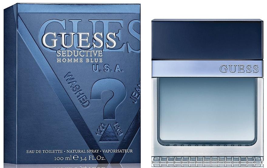 Guess Seductive Homme Blue - Apă de toaletă — Imagine N1