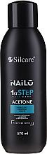 Parfumuri și produse cosmetice Loțiune pentru înlăturarea ojei - Silcare Nailo Aceton
